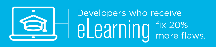 Developer security training and elearning