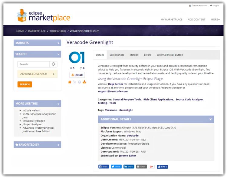 Greenlight Eclipse Marketplace