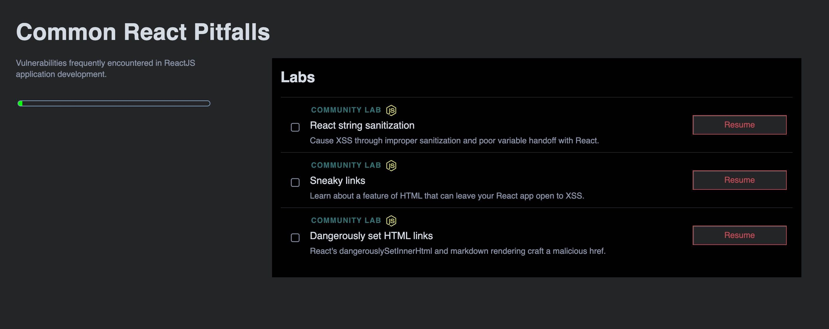 Community Edition Labs