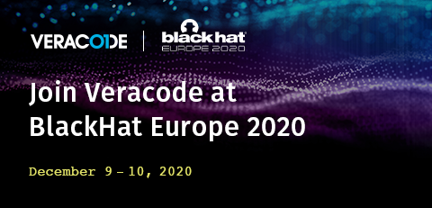 Sign up for the Veracode Secure Coding Challenge at Black Hat Europe and code your way to the top!