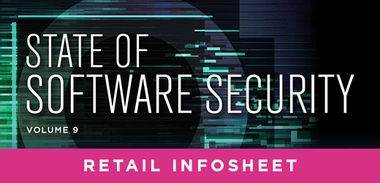 State of Software Security Volume 9 Retail Infosheet