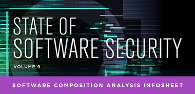 State of Software Security Volume 9: Software Composition Analysis