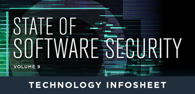 State of Software Security Volume 9 Technology Infosheet