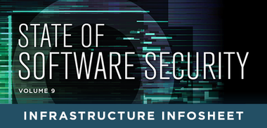 State of Software Security Volume 9 Infrastructure Infosheet