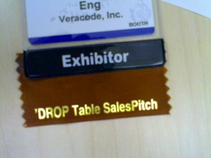DROP Table SalesPitch