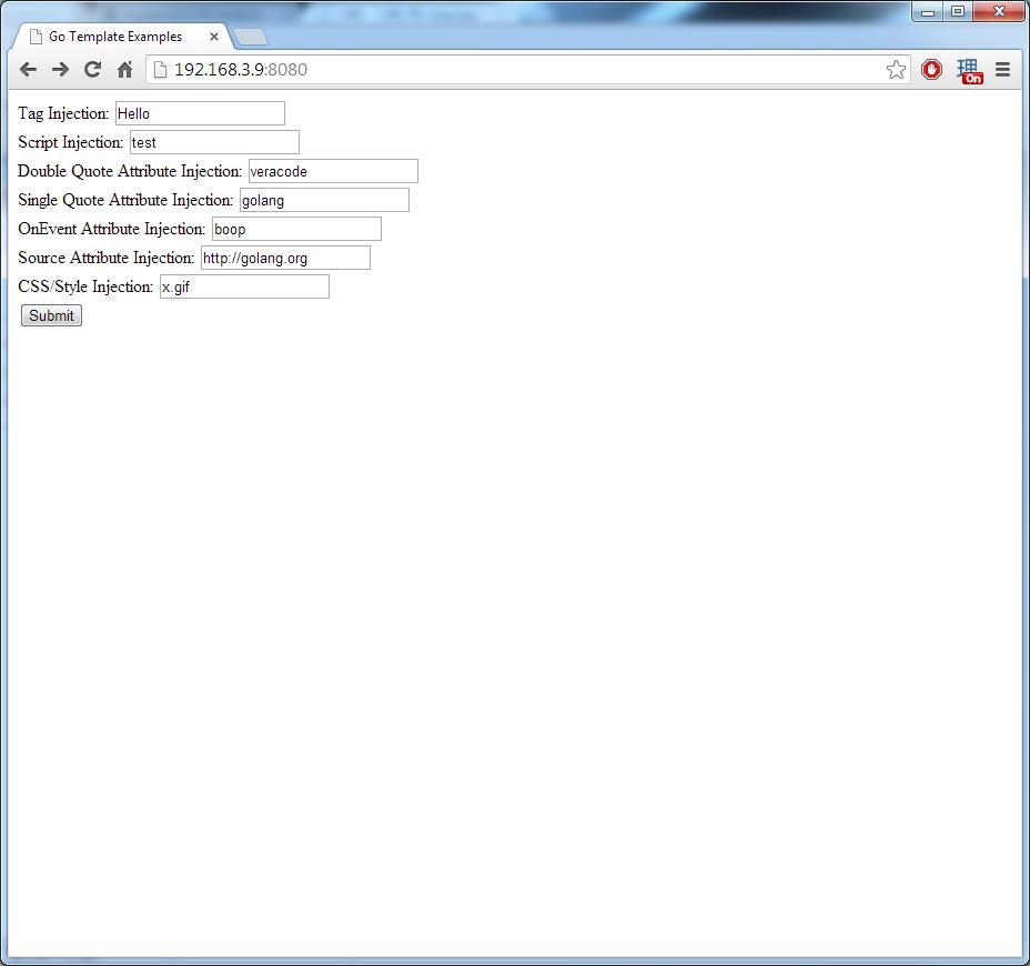 golang s context aware html templates veracode