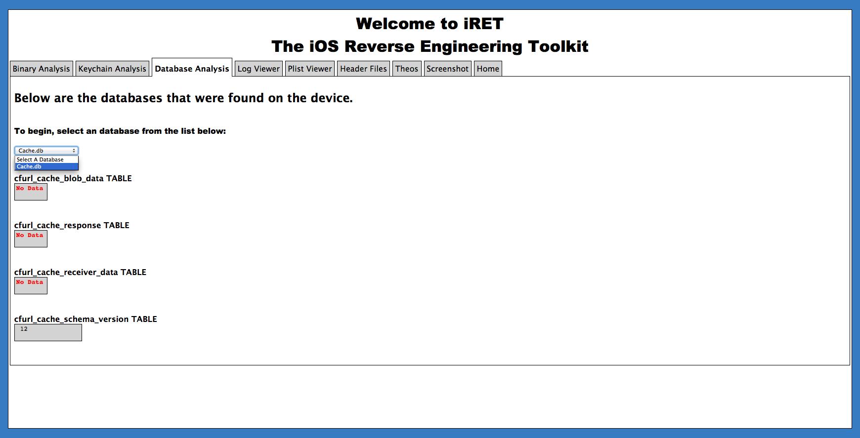 Introducing the iOS Reverse Engineering Toolkit   Veracode